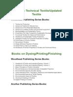 Books on Technical Textile.doc