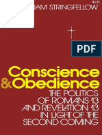 Conscience & Obedience_ the Politics of Romans 13 and 3 in Light of the Second Coming - William Stringfellow