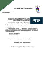 ESA - Inscrições
