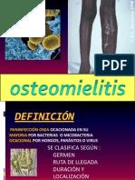 Presentación 1 Osteomelitis y artritis sèptica