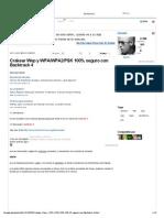 Crakear Wep y WPA_WPA2_PSK 100% Seguro Con Backtrack 4 - Taringa!