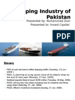 Shipping sector of Pakistan