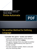 Chapter 5 - Finite Automata