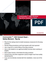 Commander 1000 Top-Drive Cementing Head