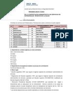 Convocatoria CAS 17-2013