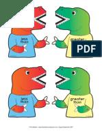 DinosaursLessThanGreaterThan Mailbox