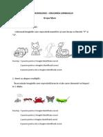 TEST DOCIMOLOGIC – EDUCAREA LIMBAJULUI .docx