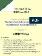 Programa Psicologia de La Personalidad 2013-2014