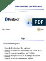 Transmission de données par Bluetooth