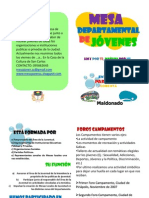 Folleto (mesa departamental)