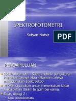 Spektrofotometer ppt
