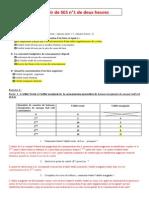 Correction Du Devoir de Deux Heures 1 Du 15 Octobre 2013