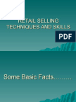 Retail Selling Techniques