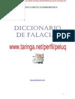 Diccionario de falacias