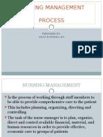nursing leadership final essay