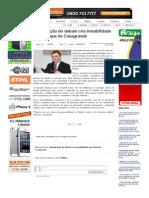 SiteBarra » Antecipação do debate cria instabilidade no palanque de Casagrande