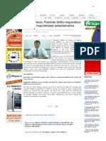 SiteBarra » Nova Venécia_ Flamínio Grillo responderá ação por improbidade administrativa
