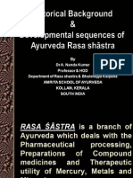 History & Development of Ayurveda Rasashastra