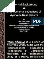 History & Development of Ayurveda Rasashastra