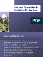 Units and Quantities in Radiation Protection