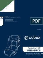 Инструкция для Cybex Solution x2 (User Guide)
