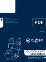 Инструкция для Cybex Solution x2-Fix (User Guide)