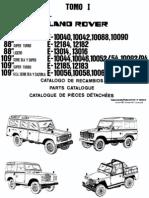Catalogo de Repuestos Land Rover Santana 88-109