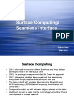 Seamless Interfaces
