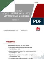 OTA101101 OptiX 155622H(Metro 1000) V200 Hardware Description ISSUE1.11.ppt