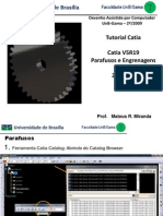 Tutorial Catia - Parafusos e Engrenagens Light