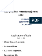 KGS (Medical Attendance) rules 1963.ppt