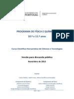 programa-de-fisica-e-quimica em discussão publica