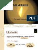 Expose Sur Le Siecle Des Lumieres