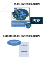 Estrategia de Diversificacion