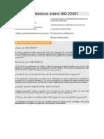 Conceptos básicos sobre ISO 22301
