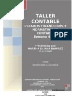 Taller Semas 4 y 5 Martha Liliana Ramirez