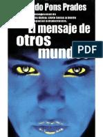 Pons Prades, Eduardo- El Mensaje de Otros Mundos