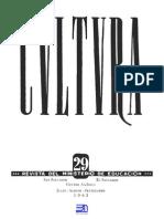 Revista Cultura 29