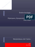 Metabolismo Del CA. Hiper-Hipocalcemia (1)