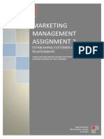 Marketing Management Assignment 3.docx