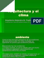 Arquitectura y El Clima