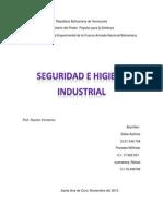 Higiene y Seguridad Industrialll