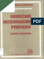 Feldstein de C+írdenas - Derecho Internacional Privado Parte Especial