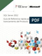 SQL Server 2012 Licensing Reference Guide 23-04-14