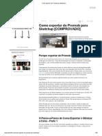 Como exportar do Promob para Sketchup.pdf