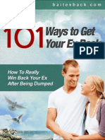101 Ways to Get Your Ex Back