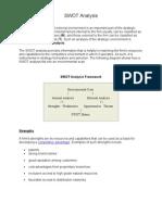 SWOT Analysis.doc