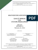 QMS-001 Quality Manual Revision Q