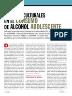 SEDRONAR-Modelos Culturales y Consumo de Alcohol