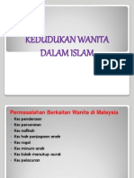 3. Kedudukan Wanita Dalam Islam